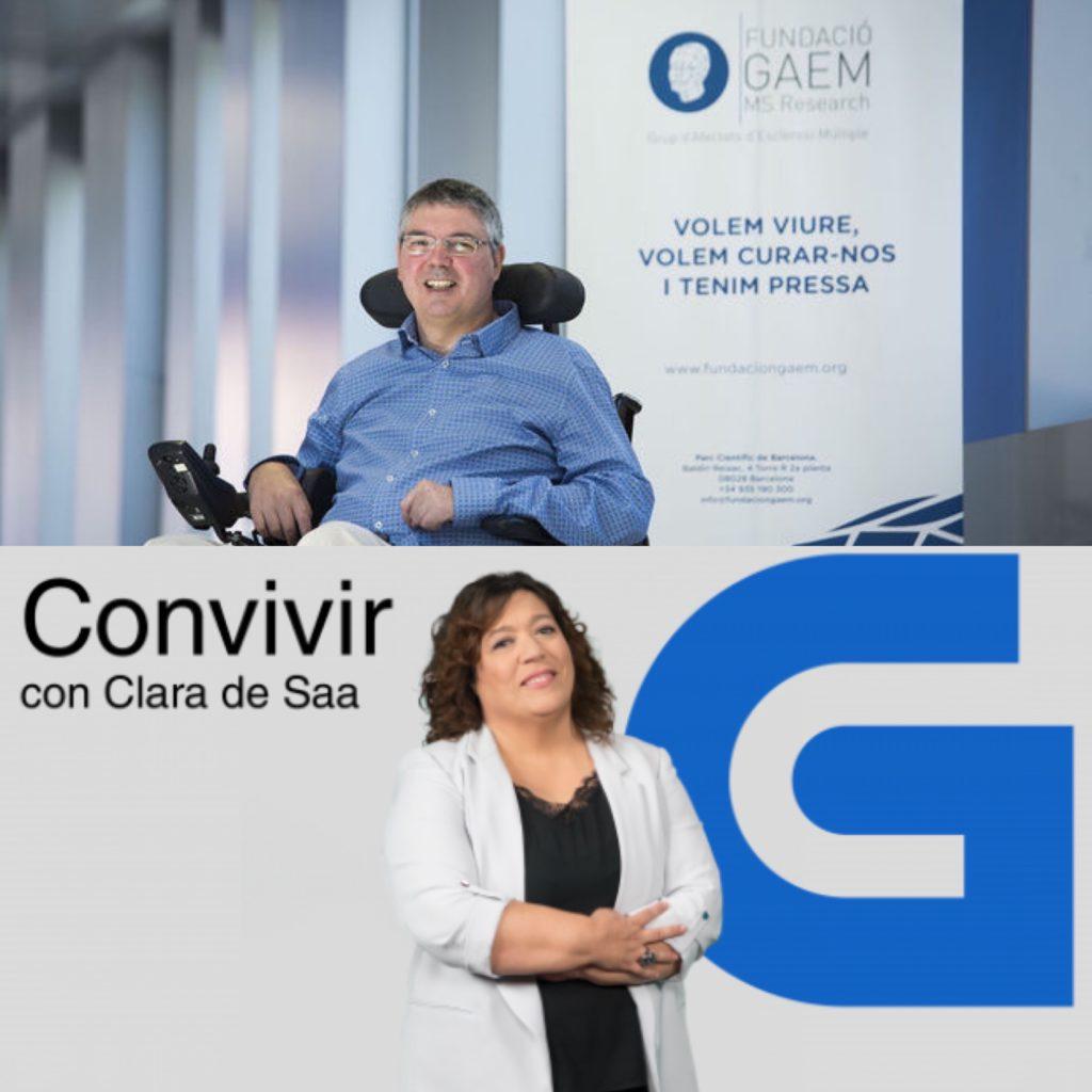 """Vicens Oliver y Yo Doy mis Pasos en Radio Gallega · Programa """"Convivir"""" de CRTVG"""